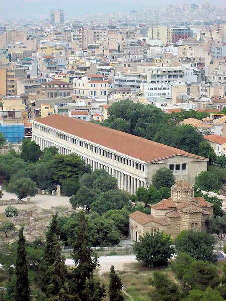 Athens Stoa, Greece