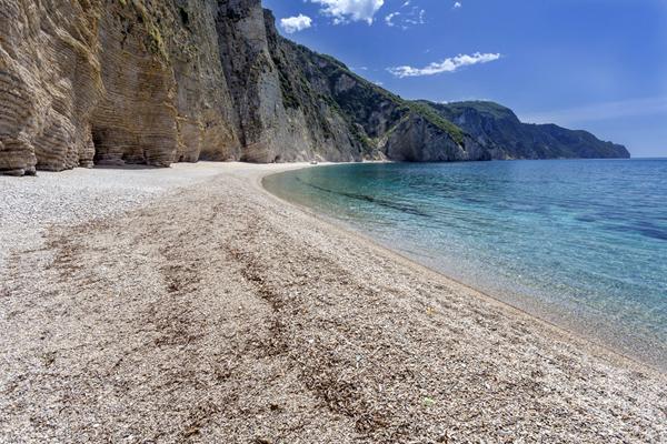 Paradise Beach, Corfu island, Greece