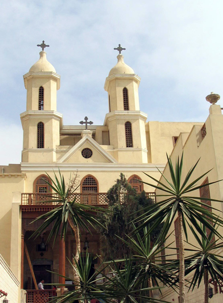 St. Virgin Mary's Coptic Orthodox Church, popularly known as the Hanging Church (El Muallaqa), Cairo, Egypt