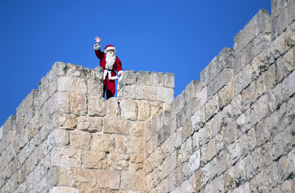 Jerusalem Old City walls, photo by Dafna Tal, courtesy of the Israel Ministry of Tourism