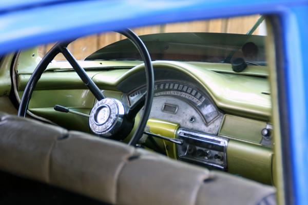 classic American car in Cuba