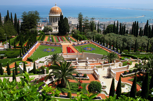 Baha'i Gardens and Shrine, Haifa, Israel