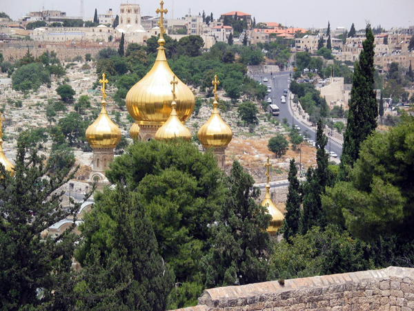 Russian Orthodox Church of Mary Magdalene, Jerusalem, Israel
