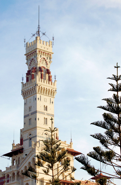 tower of Montaza Palace, Alexandria