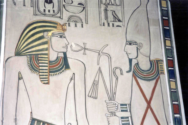 the tomb of Nefertari, queen of Ramesses II (the Great)