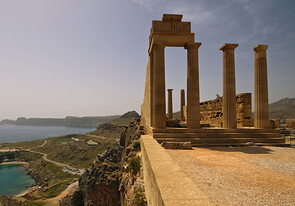 Temple of Athena at Lindos, Rhodes