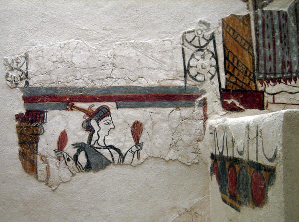 Mycenae fresco