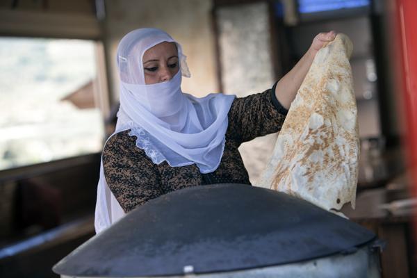 a Druze woman