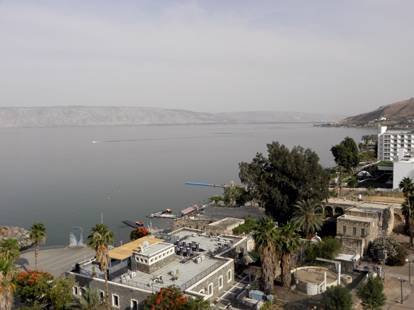 Tiberias onthe Sea of Galilee