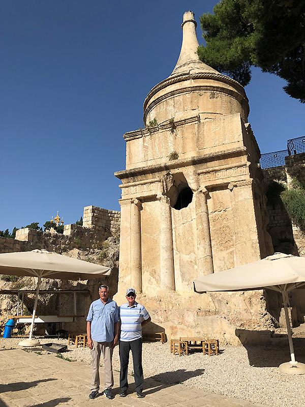 the Absalom Pillar in Kidron Valley, Jerusalem