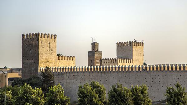 Fez city walls