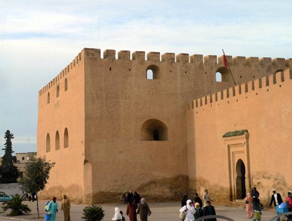Meknes walls