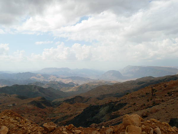 the view from the Salma Plateau in Oman, photo courtesy of Elite Travel & Tourism