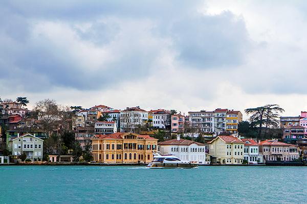 Bosphorus shore, Istanbul