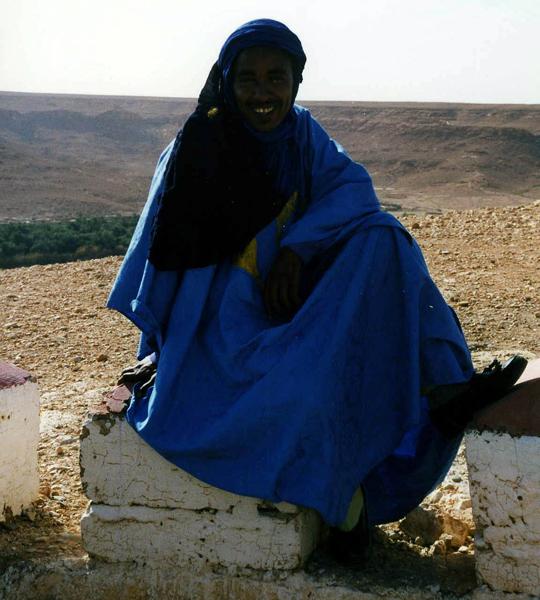 a Tuareg Berber