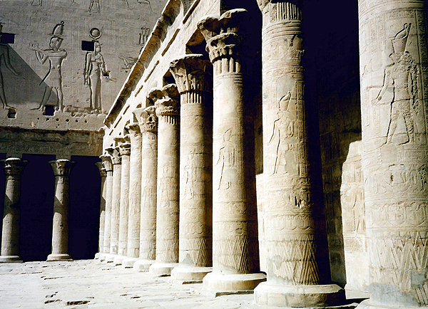 Temple of Horus at Edfu, Egypt