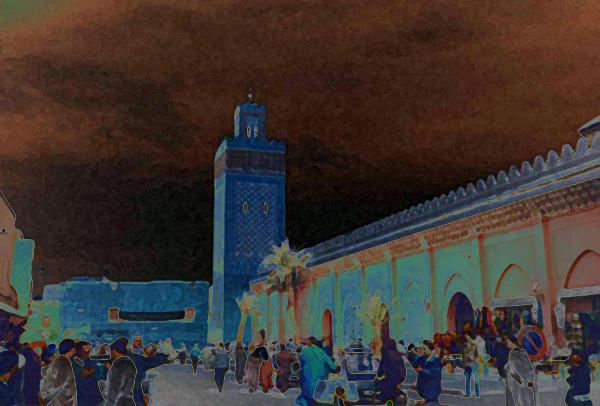 Koutoubia Minaret, Marrakech, Morocco