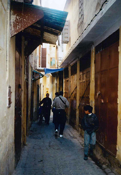 in the medina of Fez