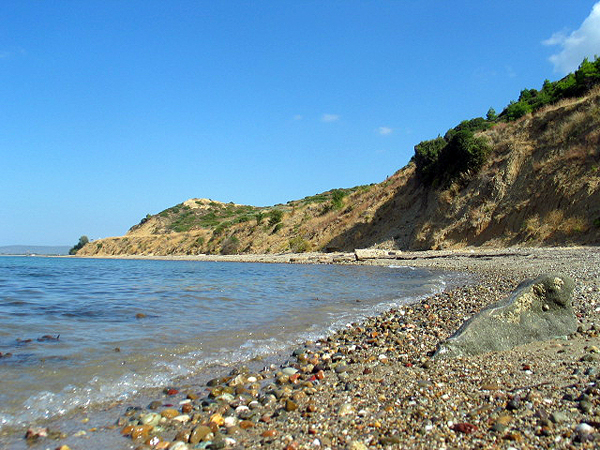 ANZAC Cove, where the Australia New Zealand Army Corps landed on April 25, 1915