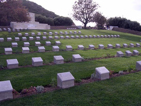 Ari Burnu Cemetery, Gallipoli