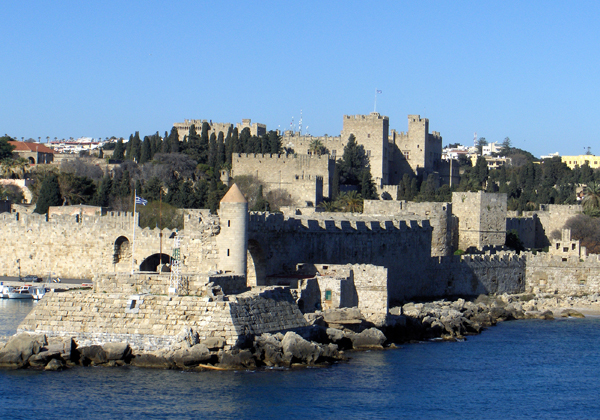 Rhodes Town, Grand Master's Palace and Medieval walls