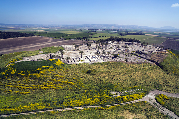 excavations at Tel Megiddo, photo by Itamar Grinberg, courtesy of the Israel Ministry of Tourism