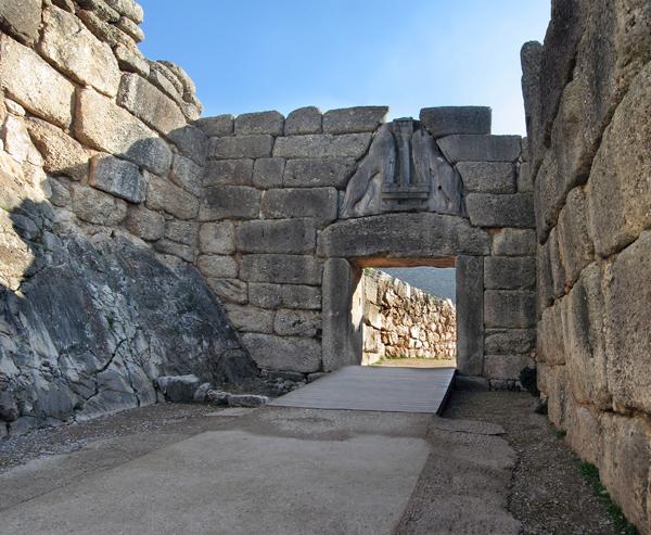 Lions Gate, Mycenae, Greece