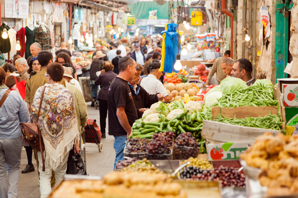 the shuk, Jerusalem