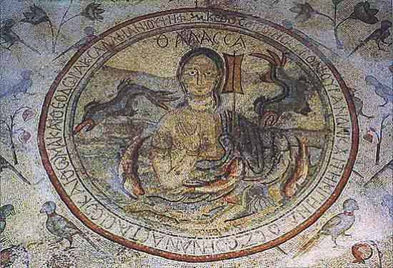 Church of the Apostles mosaic, Madaba