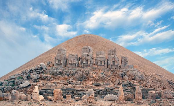 Nemrut Dagi (Nemrut Dag, Mt. Nemrut), Turkey