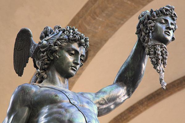 Perseus with the head of Medusa, Benvenuto Cellini, 1554