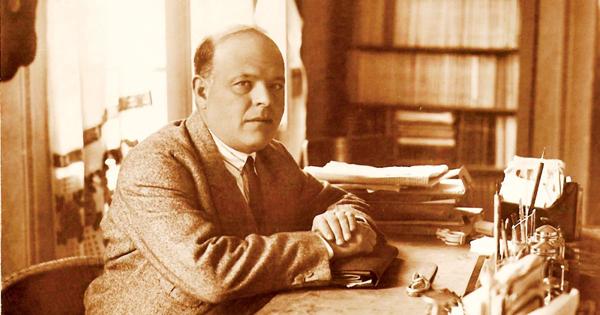 National Poet of Israel Hayim Nahman Bialik, 1873-1934