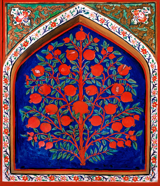 The Tree of Life, Palace of Shaki Khans, Azerbaijan, from Wikipedia