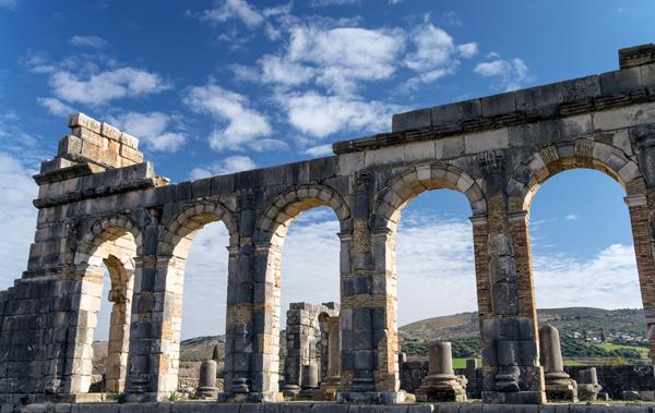 Volubilis, Morocco - the Basilica
