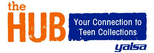 The logo for YALSA's YA collections blog, The Hub