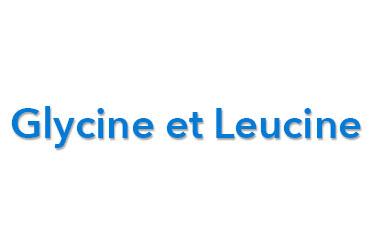 glycine-leucine-acides-amines