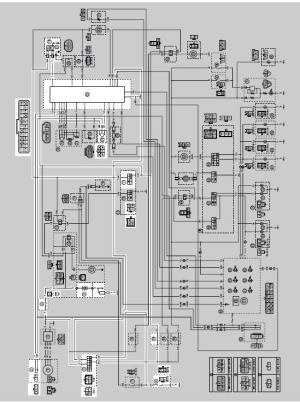 Yamaha YZFR125 Service Manual: Circuit diagram  Ignition system  Electrical system