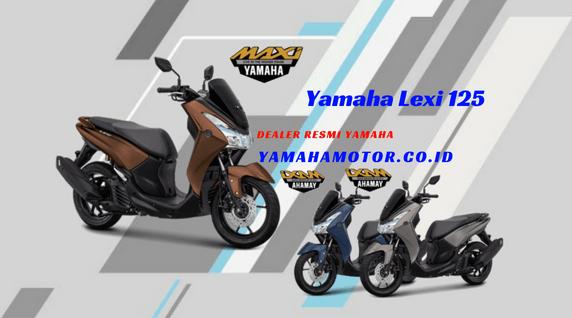 Kredit Motor Yamaha Lexi 125