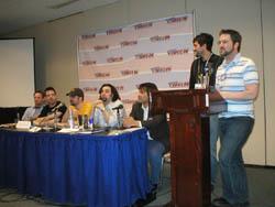 Webcomics panel