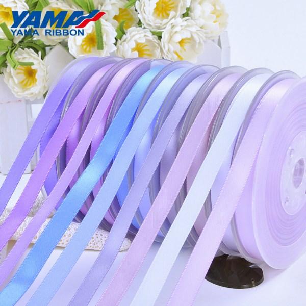 violet purple satin ribbon