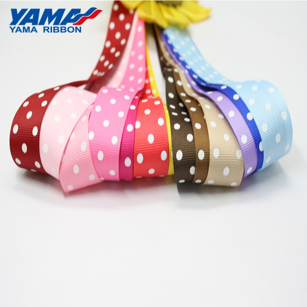 3 dot grosgrain ribbon