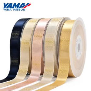 Ombre Gold Purl Ribbon
