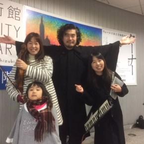 【昨日の山作戰】2017.12.31 路上ライブは可憐隊で!その後の富士イタリアン鍋の会は感度が高い方の集まりでした