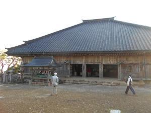 大峯山寺 本堂
