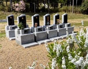 いのり地区の永代供養付家族墓は、コンパクトですが、お家のシンボル(お墓)としてしっかりとした大きさで使用面積は600×900があり、お申し込みが増えています。