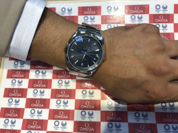腕時計 オメガシーマスターアクアテラマスタークロノメーター