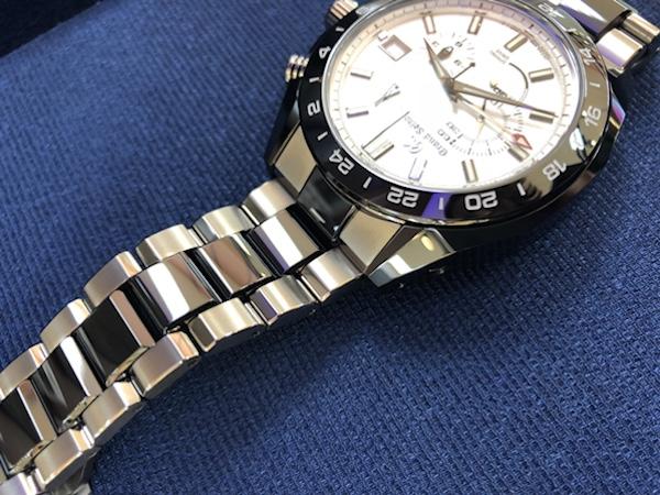 腕時計 グランドセイコー  マスターショップ限定モデル  SBGC221  スプリングドライブのベルト側