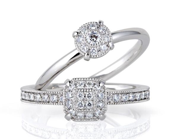 ブライダルリング 婚約指輪 エンゲージリング LUCIE  トロイメライ・オペラ