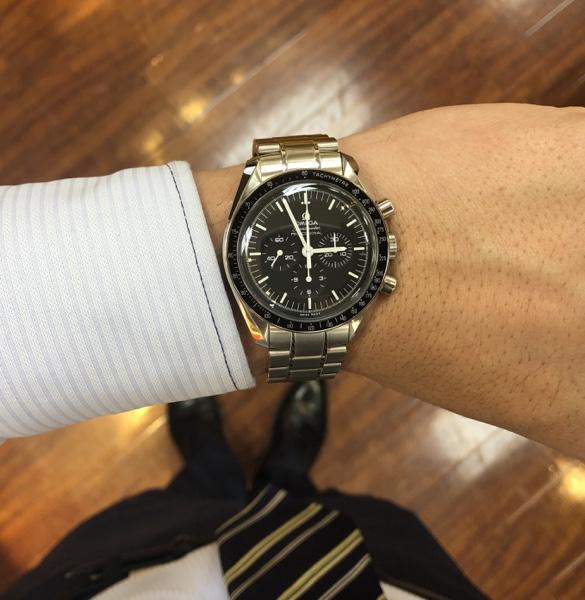 腕時計 オメガ スピードマスター プロフェッショナル
