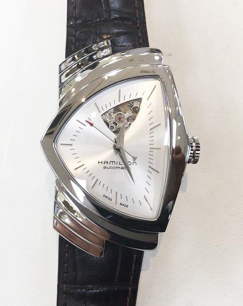 腕時計 ハミルトン ベンチュラ オープンハートH24 515 552 沖縄の時計店